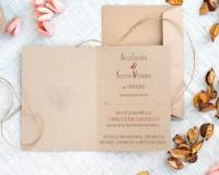 eko zaproszenie ślubne