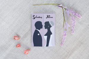 gustowne zaproszenie na wesele i ślub