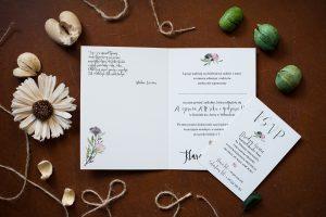 przykład zaproszenia ślubnego